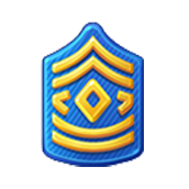 Badge Military Level 15