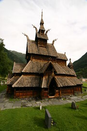 RealWorld Ancient Stave Church