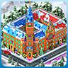 Set Christmas Town Halls