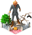 Jack O'Lantern Statue