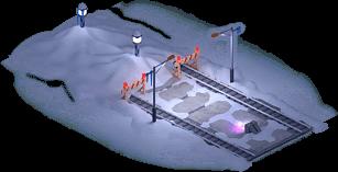 Snowville Track Straight Long EW Stopper 50%