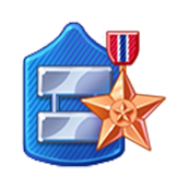 Badge Military Level 52