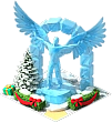 Pedestal Ice Angel