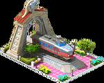 Silver Kuha Locomotive Arch