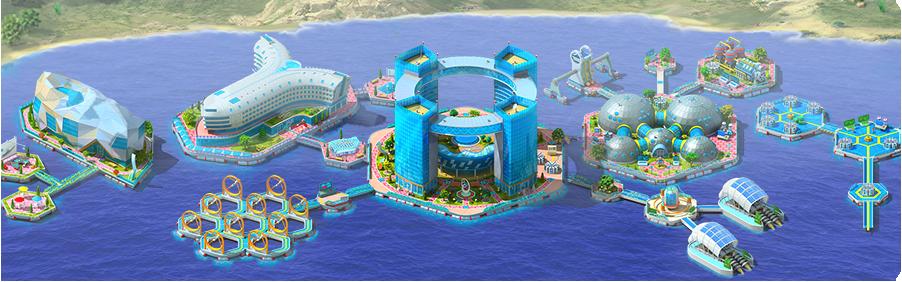 Island of Advanced Technology Background