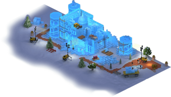 Snow Town Hall L1