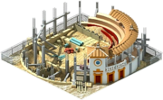 Bullfighting Arena Construction