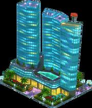 Central Hotel Complex (Night)