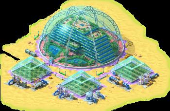 Anti-Gravitational Greenhouse L1