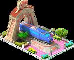 Bronze Sonic Locomotive Arch