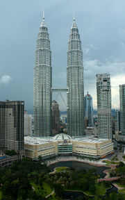 RealWorld Petronas Towers