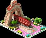 Bronze Landlord Locomotive Arch