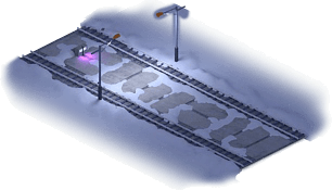 Snowville Track Straight Long WE