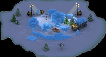 Snow Colosseum Construction