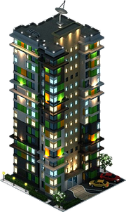 Lampion Residential Complex (Night)