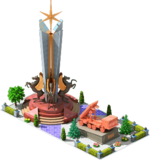 Bronze CMS-24 Monument