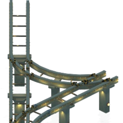 Monorail Section Junction