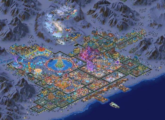 Snowville Gamemap