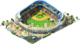 Large Baseball Stadium L1