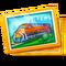 Unique Asset Diesel Locomotive Card