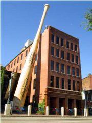 RealWorld Louisville Slugger Baseball Bat Factory