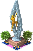 Conqueror of Heights Sculpture