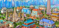 Chinatown Background