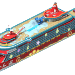 Deluxe Class Christmas Cruise Ship (Level 2)