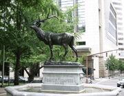 RealWorld Elk Fountain