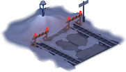 Snowville Track Straight Short EW Stopper 50%