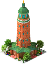 Jungfernheide Park Water Tower