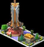 Gold APC-24 Monument