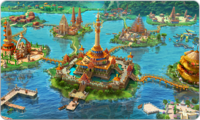 Banner Tropical Island