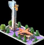 Bronze TB-37 Bomber Monument