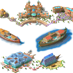 Floating Palaces Area