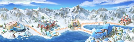 Ice Hotel Background