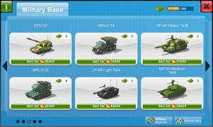 Military Base Storage