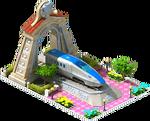 Silver Hokuriku Locomotive Arch