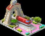 Silver Talgo Locomotive Arch