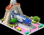 Silver Matilda Locomotive Arch