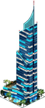 Elite Skyscraper (Night)