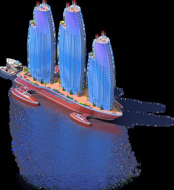 Skyscraper Ship L3