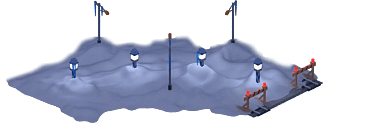 Snowville Track Curve EW 2 Snow Stopper