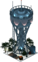 Fortified Water Tower (Night)