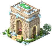 Arc de Triomphe (Winter)