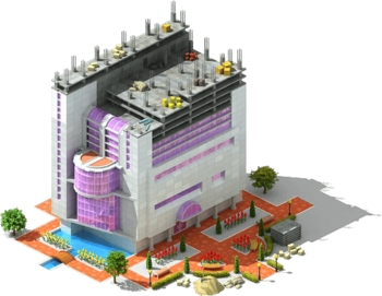 Waterworld Residential Complex Construction