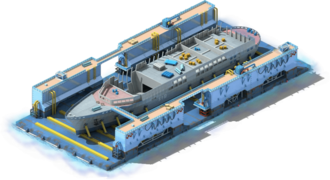 HC-11 Helicopter Carrier Construction