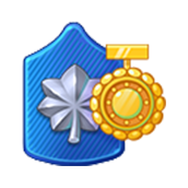 Badge Military Level 62