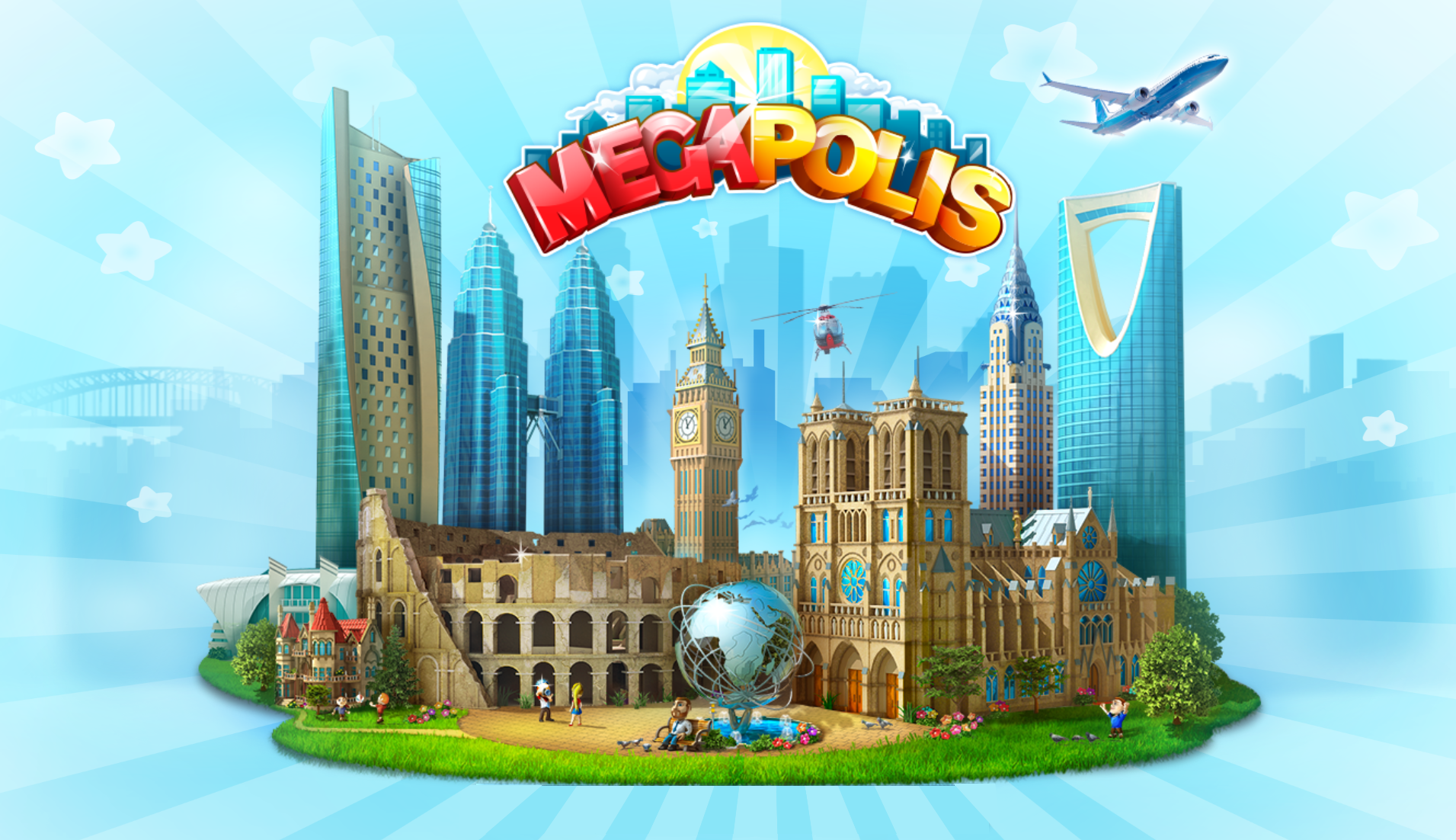 Megapolis business management games for Android and iOS