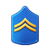 Badge Military Level 5